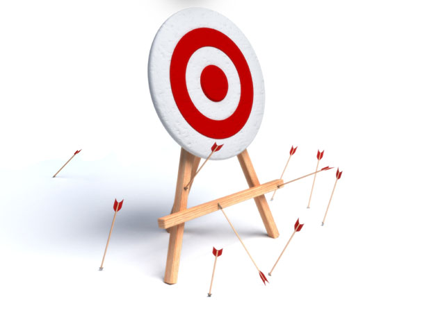 arrows missing target