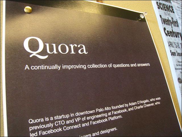 Knowledge database Quora lures Australians | Delimiter