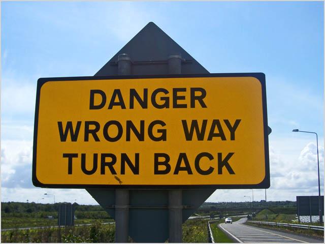 dangerwrongway