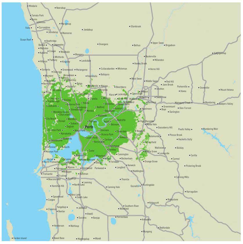 Eastern suburbs perth
