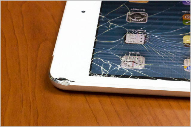 Broken ipad mini