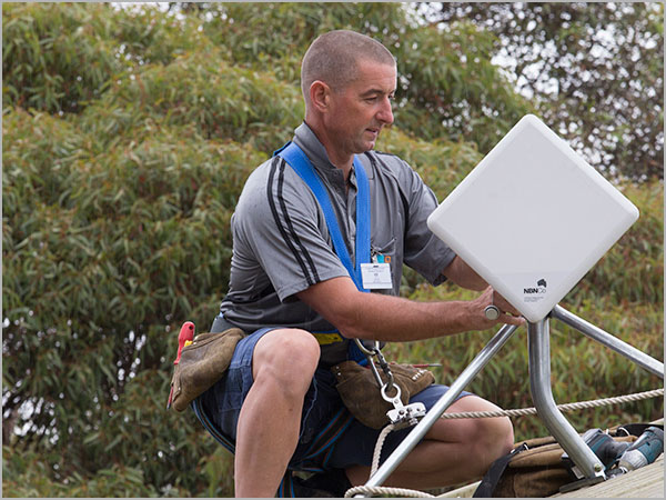 How to fix NBN Fixed Wireless: Install a roof antenna extension
