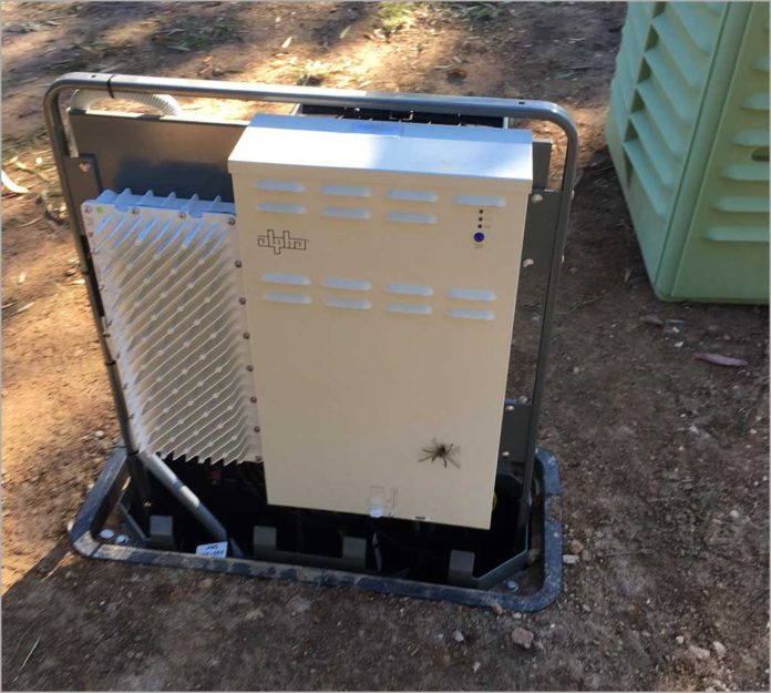 Photos: NBN Co leaves FTTN 'micronode' completely open to public