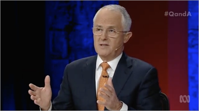Fact check: Turnbull misleads Q&A audience on NBN   Delimiter
